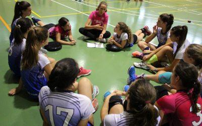 «El voleibol fomenta la comunicación y el respeto»